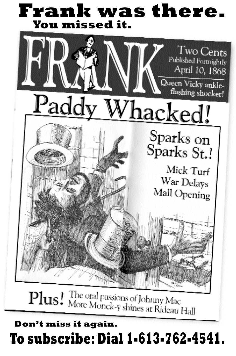 Frank of Ages - Paddy Whacked Promo