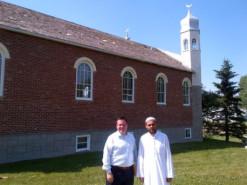 Jason Kenney with Imam Sherif El Sayed