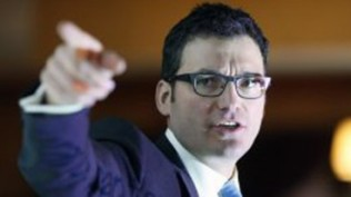 Evan Solomon speaks to the International Council of Shopping Centres