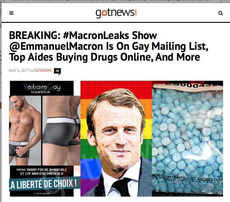 RebelTV latest: Emmanuel Macron's wife seduced him 20 years ago so
